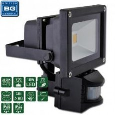 10 WATT PIR LED GUARDIAN FLOODLIGHT IP65