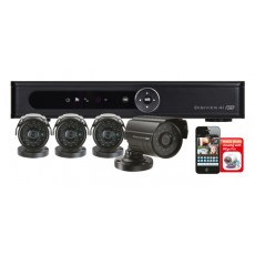 ESP FOUR CHANNEL DVR + 4 CAMERA CCTV KIT